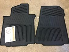 NEW OEM  NISSAN NV200 2015-2017  2 PIECE ALL WEATHER RUBBER MATS