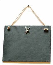 Woodcock Flying Slate Chalk Notice Board  Messages, Lists, Shooting Gift