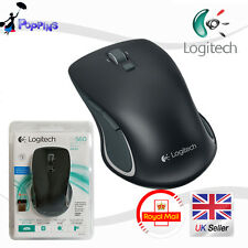 NUOVO LOGITECH LASER WIRELESS USB NANO MOUSE M560 NERO (IN BOX)