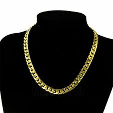 Fashion Mens/Womens 14K Gold Filled Chain Necklace Exquisite Golden DIY Jewelry