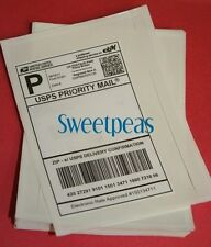 25 ~ CLEAR SHIPPING LABEL ENVELOPES ~ DURABLE ~ HIGH QUALITY
