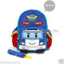 Robocar Poli Car Baby Toddlers Backpack with Safety Lead Reins Harness Walkings