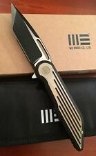 WE KNIFE CO WE616K RESONANCE FRAMELOCK KNIFE BLACK GOLD TITANIUM