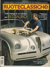 SETTEMBRE 2004 RUOTECLASSICHE N 189 AUTO DI PLASTICA LANCIA - FIAT 124 FAMILIARE