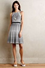 NEW ANTHROPOLOGIE Saybrook Stripe Dress  Sz 6 by EVA FRANCO SOLD OUT! Orig. $168
