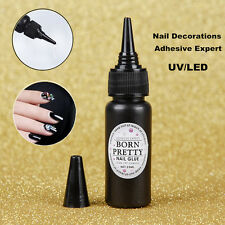 BORN PRETTY 25ml Nail Art Decoration Adhesive Glue Fast-dry for UV/LED Manicure