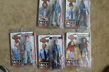 DUKES OF HAZZARD SERIES 2; 8 INCH  FIGURES; SET OF 5 FIGURES. FIGURES TOY CO