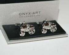 Mens Novelty Cufflinks - OLD TRACTOR Design - *Boxed* New