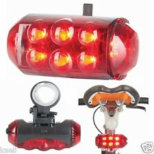 LED BIKE SAFETY NIGHT LIGHT HIGH INTENSITY BICYCLE BRIGHT TAIL LIGHT WARNING