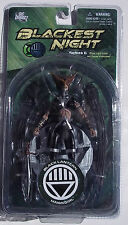 DC BLACK LANTERN HAWKGIRL. BLACKEST NIGHT SERIES 6. COLLECTOR ACTION FIGURE. NOC