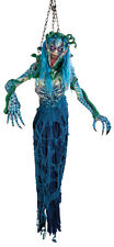 Halloween LifeSize Non-Animated 8 Foot Scary HANGING MEDUSA Prop Haunted House