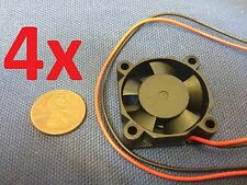 4 Pieces 3010s (30x30x10mm) 2 wires Brushless DC Cooling Fan Blower 12V Fans c12