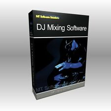 Professional DJ Audio Music MP3 Mixing Mixer Laptop BPM Software