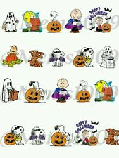 Charlie Brown Nail decals! (Water Transfer decals) snoopy Halloween nail Decals