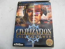 USED PC CD ACTIVISION CALL TO POWER BIGBOX FOR WIN95/98 AND NT.