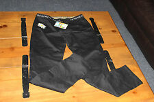 DESIGUAL NEW sz 34 or 10-12 WOMEN PANTS  STRETCH NWT
