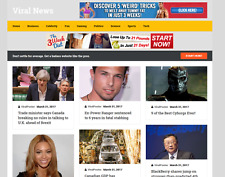 "Established ""Viral News""  Profitable BUSINESS Turnkey Website For Sale"