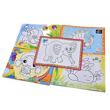 DIY Watercolor Painting Set 4 Colors Children Drawing Toy Kids Educational HH
