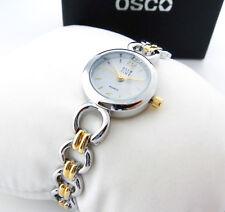 """OSCO Klassik * Damen-Schmuckband-Uhr """"Singing Queen"""" Bicolor"""