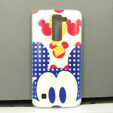 For LG K7 / Tribute 5 Mickey Phone Case Cover Free Screen Protector