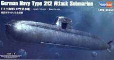 Hobby Boss U-Boot boat German Navy Type 212 Attack Submarine 1:350 Bausatz kit