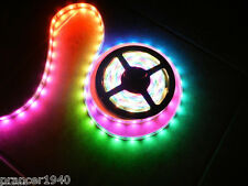 1 Roll 12V Volt LED Crazy Lights System - Tape Rope Lighting Chasing - 16.4 feet
