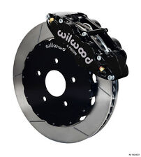 Wilwood Disc Brake Kit front Subaru WRX STI forester road race slotted