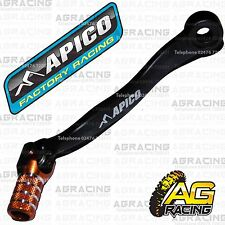 Apico Black Orange Gear Pedal Lever Shifter For KTM EXC 250 Six Days 2017 Enduro