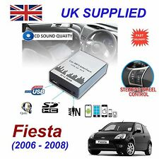 FORD FIESTA 06-08 mp3 USB SD CD AUX Input Adattatore Audio Modulo digitale