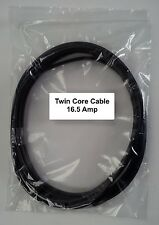 12V / 24V AUTOMOTIVE 10 METER 16.5 AMP 2 CORE FLAT TWIN THIN WALL CAR CABLE WIRE