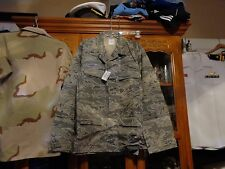 USAF Air Force ABU TIGER STRIPE  SHIRT/ BLOUSE 46 LONG 46L WINTER WEIGHT NWT  XL