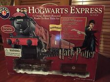 Lionel Hogwarts Express G Gauge Battery Powered Train Set #7-11080