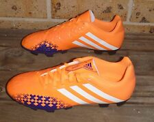 NEW Adidas Predator LZ TRX FG Women's Soccer Shoes Glow Orange/Running White 9US