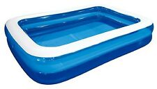 "NEW GIANT RECTANGULAR SWIMMING PADDLING POOL FAMILY SIZE FUN JILONG 103""X69""X20"""