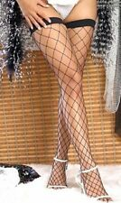WIDE FENCE NET THIGH HIGH STOCKINGS, LC7905