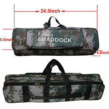 Portable Waterproof Oxford Rod Bag Case Fishing Rod Reel Fishing Tackle Bag