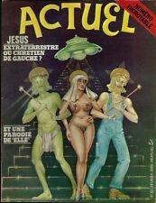 RARE EO ACTUEL N° 15 1975 PARODIES BÉCASSINE ELLE + ROCK ANGLAIS GOTLIB ALEXIS