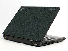 LEATHER Vinyl Lid Skin Cover Decal fits IBM Lenovo Thinkpad T450 Laptop