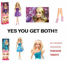 MEGA DEAL - Barbie BNC33 - Glitz Purple Dress & Barbie Glitz BNC34 - Blue Dress