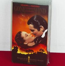 Gone With The Wind NIB VHS Movie Two Pack Vivian Leigh Clark Gable Scarlett