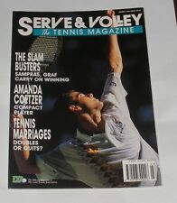 SERVE & VOLLEY THE TENNIS MAGAZINE MARCH 1994 - THE SLAM BUSTERS/AMANDA COETZER