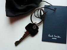 Paul Smith Keyring / Fob (GENUINE) CHROME/BLACK Key Perfect!