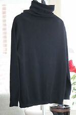 Repeat Cashmere Cowl Neck Sweater (Silver Edition) Black Women's 42/Large