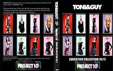 TONI&GUY PROJECT 10 COLLECTION  3 DVDs SET