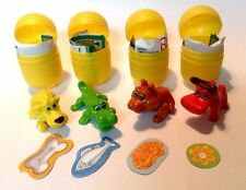 COMPLETE SET KINDER TOYS NATOONS IN THE ZOO SD130 SD131 SD132 SD133