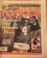 Brett Favre College & Pro Newsweekly Football August 25 1996 Vol. 22 Issue 3