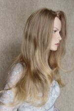 HOT Ashanti Wig.  Color 8T124 .. Brown/Blonde *
