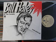 BILL HALEY & THE COMETS  POLAND MUZA  LP: ROCK AND ROLL (SX 2417)