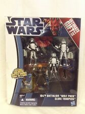 Star Wars The Clone Wars 104th Battalion Wolf Pack clone troopers Wolffe sinker