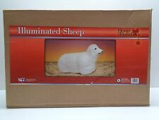GENERAL FOAM Illuminated SHEEP NATIVITY BLOWMOLD BLOW MOLD EASTER New in Box